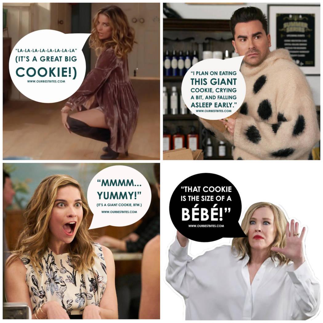 Schitt's Creek Giant Cookie Labels