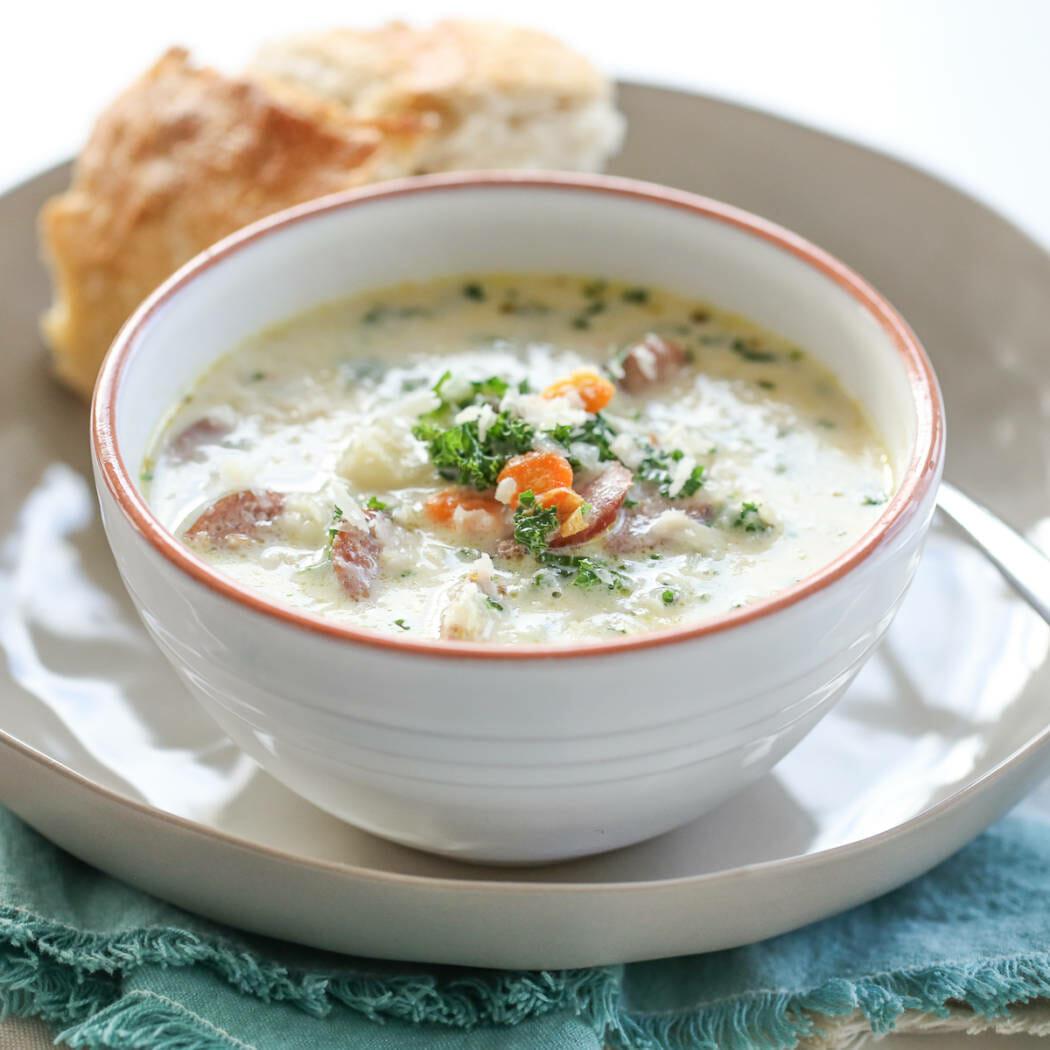 smoked sausage soup