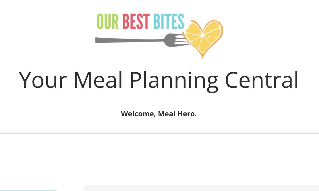Lifetime Membership to the Our Best Bites Meal Heroes Community
