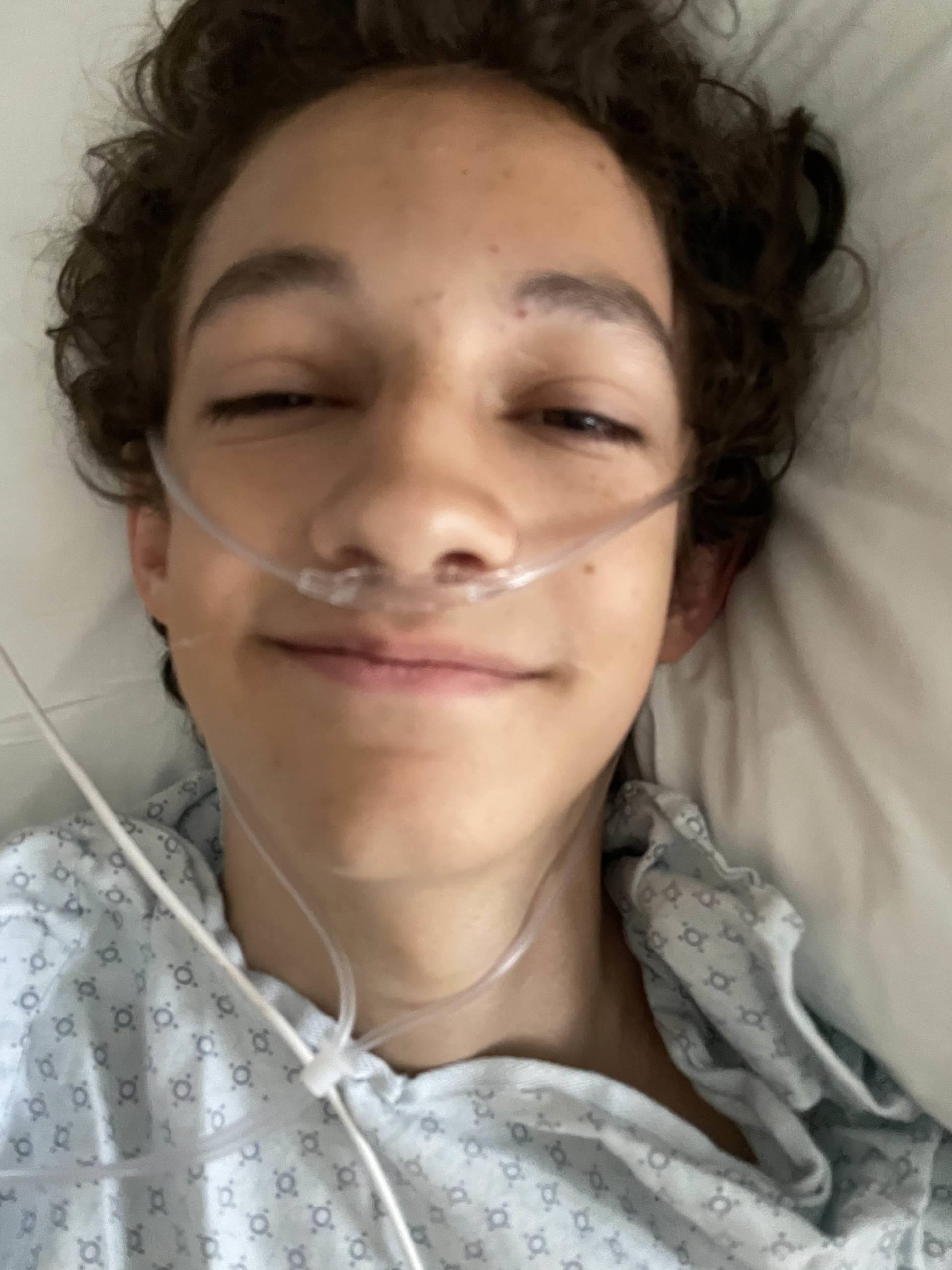 oxygen after surgery
