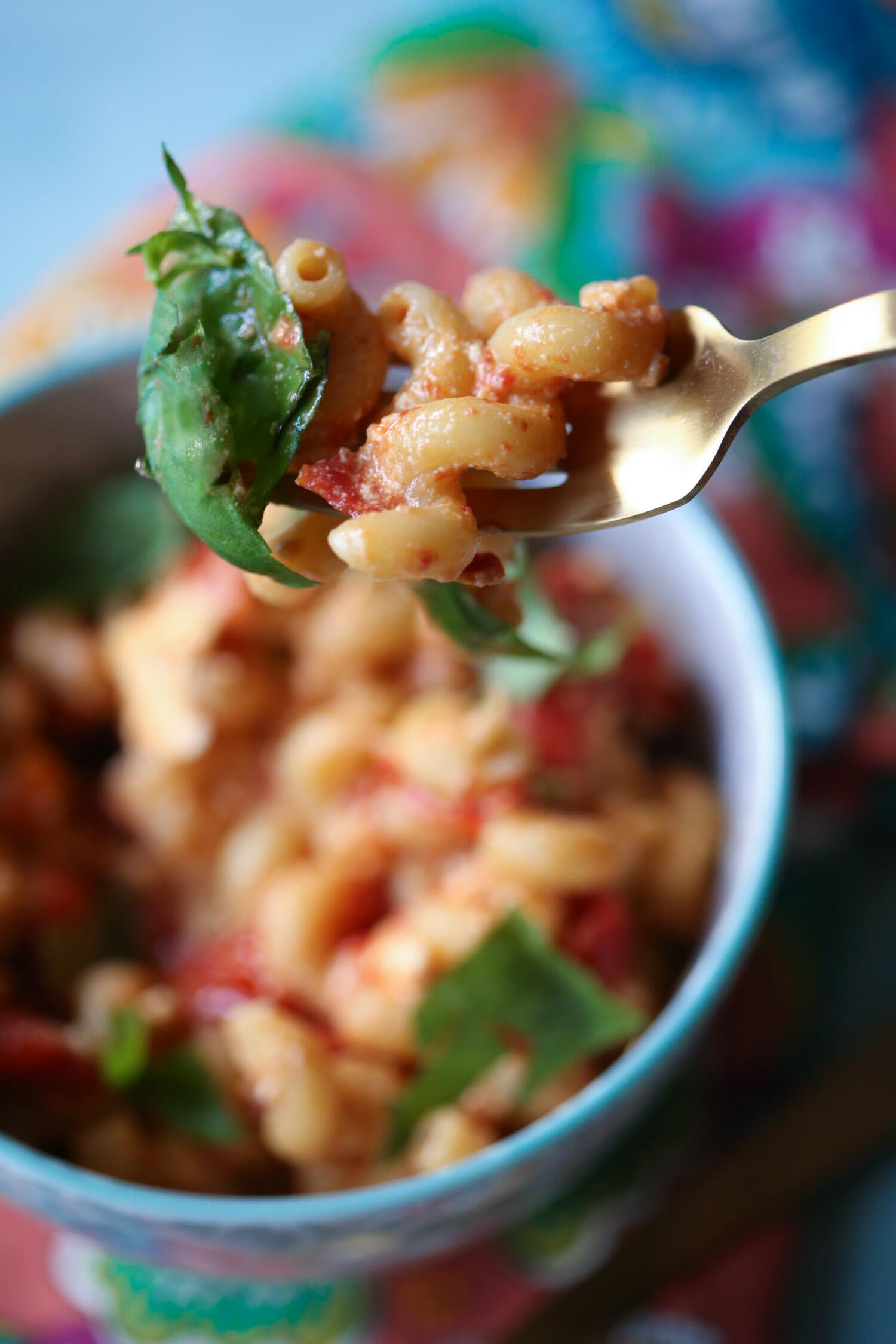 tiktok pasta from our best bites