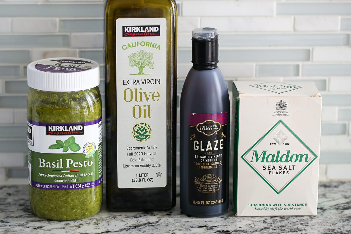 caprese salad condiments